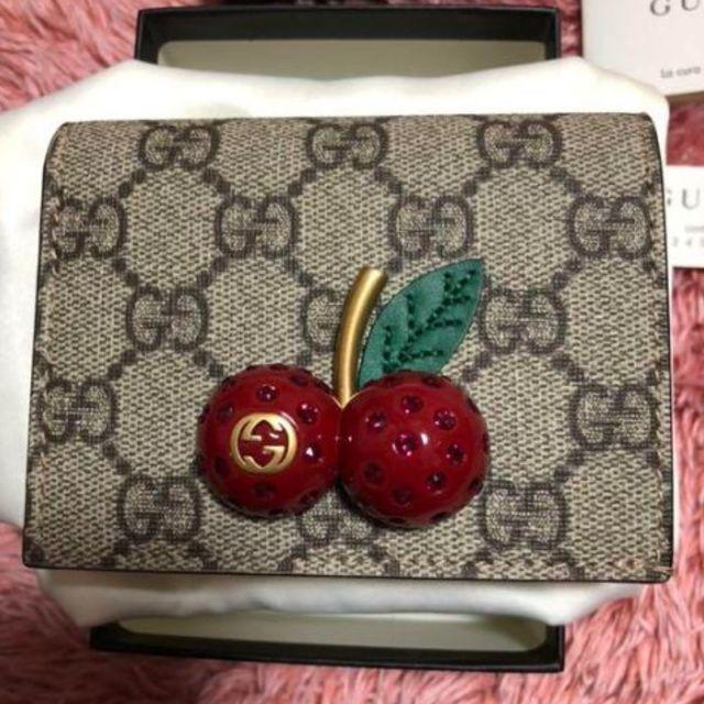 Gucci - GUCCI チェリー財布 【早いもの勝ち】の通販 by ミキパ's shop|グッチならラクマ