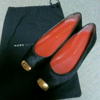 マークバイマークジェイコブス(MARC BY MARC JACOBS)のまるまるさま専用2点set(ローファー/革靴)