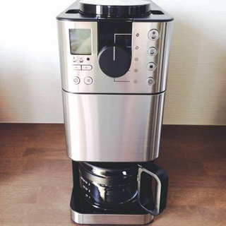 ムジルシリョウヒン(MUJI (無印良品))の無印良品 豆から挽けるコーヒーメーカー MJ‐CM1(コーヒーメーカー)