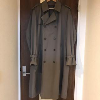 マルタンマルジェラ(Maison Martin Margiela)のvintage double trench coat(トレンチコート)
