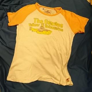 トランク(TRUNK)のビートルズ ヴィンテージ ベースボール  ラグランTシャツ  イエローサブマリン(Tシャツ(半袖/袖なし))