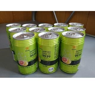 サッポロ(サッポロ)の【大特価】チューハイ99.99 フォーナイン クリアグレープフルーツ 12缶(リキュール/果実酒)