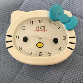 ハローキティ(ハローキティ)のお値下げ キティ 時計(置時計)