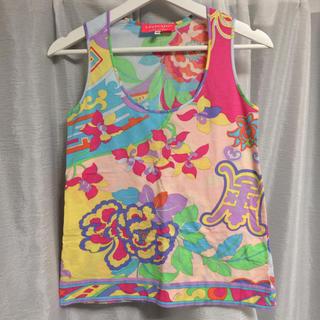 レオナール(LEONARD)のレオナール タンクトップ 40 インポート商品(Tシャツ(半袖/袖なし))