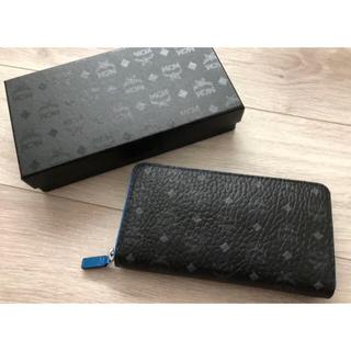エムシーエム(MCM)のdeen様専用 新品 MCM ラウンドファスナー 長財布 ブラック(長財布)