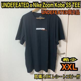 アンディフィーテッド(UNDEFEATED)の即購入OK 希少XXL アンディフィーテッド ナイキ コービー  Tシャツ(Tシャツ/カットソー(半袖/袖なし))
