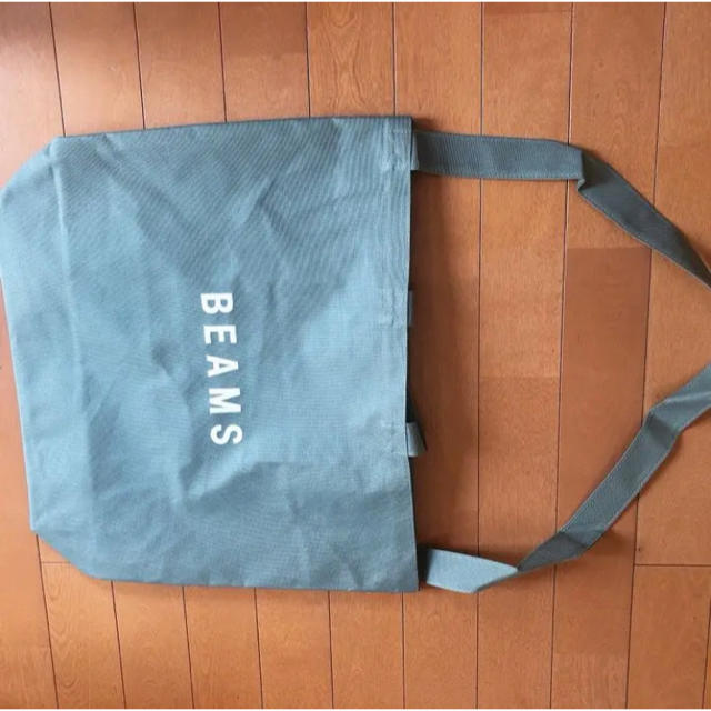 BEAMS(ビームス)の新品未使用 BEAMS ビームス トートバッグ グリーン メンズのバッグ(トートバッグ)の商品写真