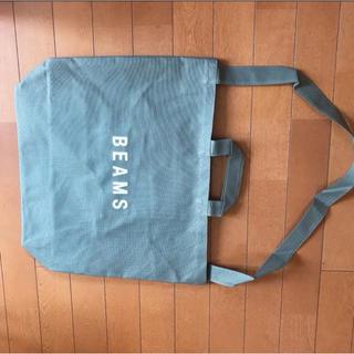 ビームス(BEAMS)の新品未使用 BEAMS ビームス トートバッグ グリーン(トートバッグ)