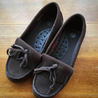 クロックス(crocs)のスェードクロックス(ローファー/革靴)
