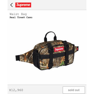 シュプリーム(Supreme)のsupreme waist bag real tree camo(ウエストポーチ)