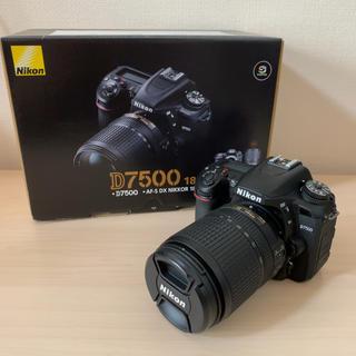 ニコン(Nikon)の【美品】NIKON D7500 18-140 VRキット(デジタル一眼)