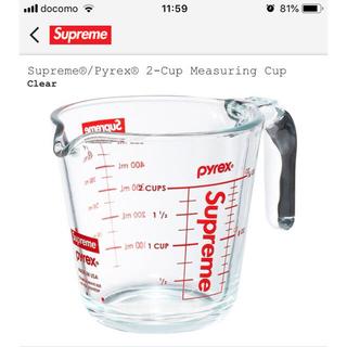 シュプリーム(Supreme)のSupreme®/Pyrex® 2-Cup Measuring Cup(グラス/カップ)