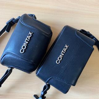 キョウセラ(京セラ)のcontax t2 t3 革のハードケース(フィルムカメラ)