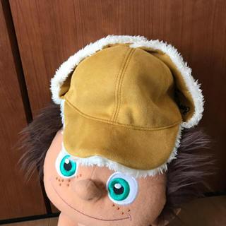 ブリーズ(BREEZE)のベビー帽子 帽子 キャップ ニット帽 モコモコ ブリーズ アンパサンド (帽子)