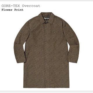 シュプリーム(Supreme)のsupreme GORE-TEX Overcoat 19aw northface(ステンカラーコート)