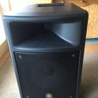 ヤマハ(ヤマハ)のYAMAHA 学校用モニタースピーカーSMS100  軽量コンパクト高出力高音質(スピーカー)