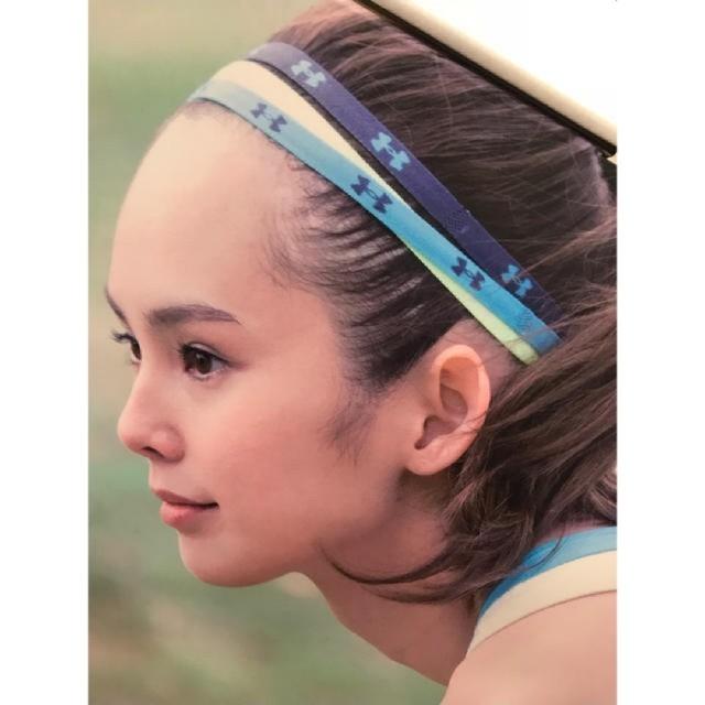 UNDER ARMOUR(アンダーアーマー)の☆アンダーアーマー☆UNDER ARMOUR☆ヘアバンド☆ヘッドバンド☆髪止め☆ レディースのヘアアクセサリー(ヘアバンド)の商品写真