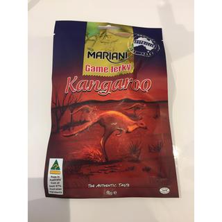 カルディ(KALDI)のオーストラリア土産  カンガルー ジャーキー  (乾物)