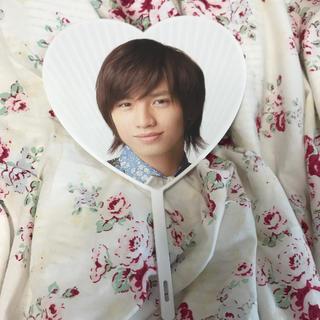 セクシー ゾーン(Sexy Zone)の中島健人 ミニ 団扇 SUMMARY2012(男性アイドル)