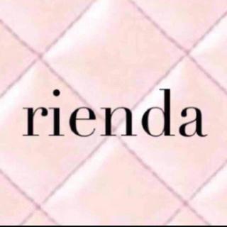 リエンダ(rienda)のrienda stretch suede BIG ライダース JK suède(ライダースジャケット)