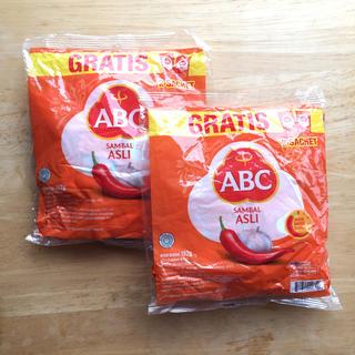 ABC サンバル2袋セット(調味料)
