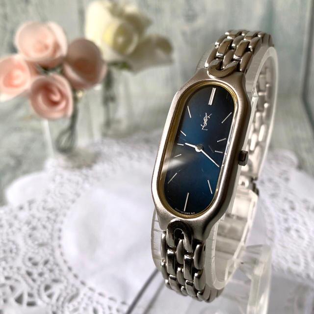 Saint Laurent - 【動作OK】Yves Saint Laurent 腕時計 レディース オーバルの通販 by soga's shop|サンローランならラクマ