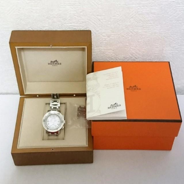 Hermes - HERMES エルメス クリッパー ダイバー 腕時計 ステンレス レディース  の通販 by SSC shop|エルメスならラクマ
