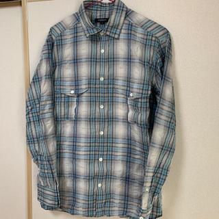 バーバリーブラックレーベル(BURBERRY BLACK LABEL)のバーバリー ブルーチェックシャツ(シャツ)