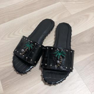 イエローブーツ(Yellow boots)のyello サンダル フラットサンダル(サンダル)