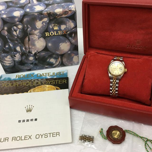 ROLEX - ロレックス デイトジャスト 10P 新ダイヤ レディース腕時計 69173Gの通販 by まりんこ's shop|ロレックスならラクマ