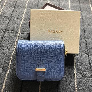 サザビー(SAZABY)の[SAZABY]ミニ財布 ブルー HRG-01(財布)