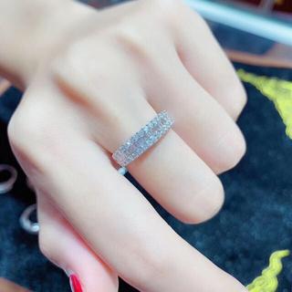 ダイヤモンド リング K18 新品(リング(指輪))