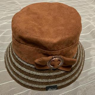 エレッセ(ellesse)のellesseの帽子★ブラウン★サイズ56cm(ハット)
