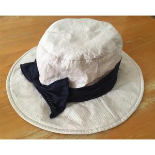 ブリーズ(BREEZE)のBREEZE バッグリボン帽子 54cm 女の子(帽子)