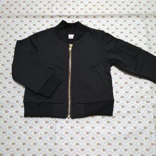 プティマイン(petit main)の新品未使用 プティマイン ジャケット ブラック 90 ブランシェス(ジャケット/上着)