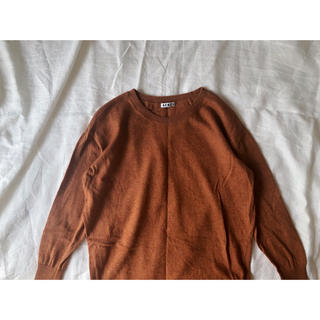アクネ(ACNE)のACNE オレンジブラウンのニット(ニット/セーター)