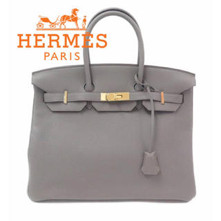 エルメス(Hermes)の新品★HERMES★エルメス バーキン35 トゴ 希少レア!グリスエタンD刻印(ハンドバッグ)