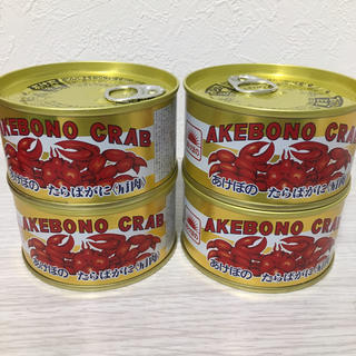 アケボノ タラバガニ(缶詰/瓶詰)