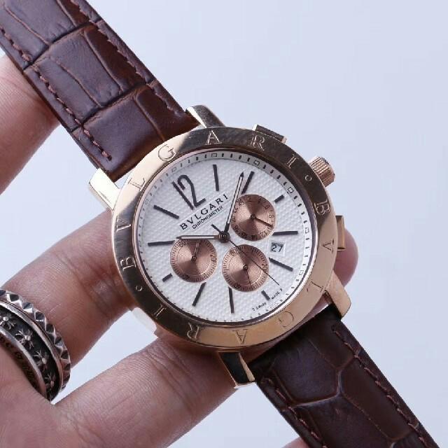 BVLGARI - BVLGARI 時計 メンズ ブルガリ 40mm腕時の通販 by 高尾 五郎's shop|ブルガリならラクマ
