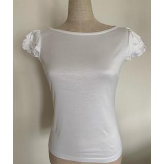 エムプルミエ(M-premier)のMプルミエ 白Tシャツ(Tシャツ(半袖/袖なし))