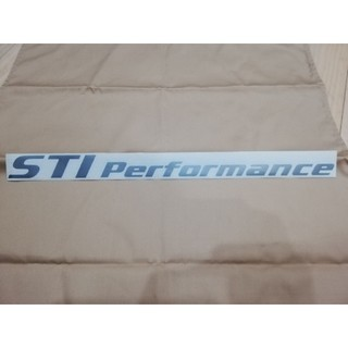 スバル(スバル)のスバルSUBARU STI Performance ステッカー(車外アクセサリ)