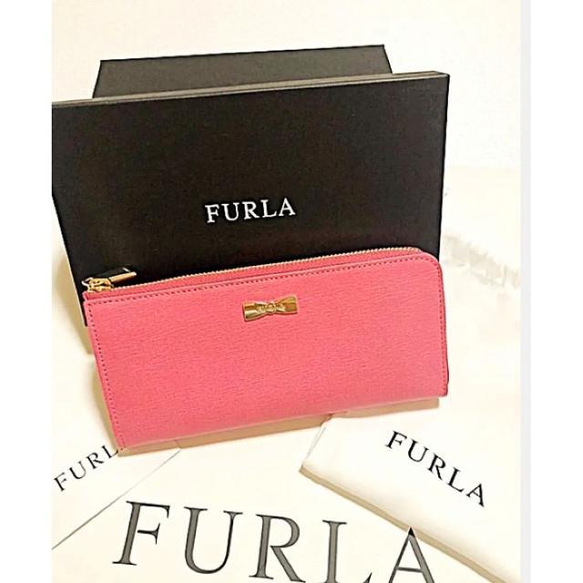 Furla - FURLAの長財布コーティングレザー長財布★新品未使用品★ピンクの通販 by yeye's shop|フルラならラクマ