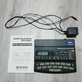 ズーム(Zoom)のzoom RT-223リズムマシン 内蔵電池不良ジャンク(その他)