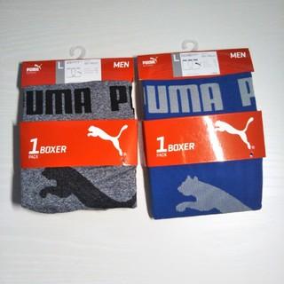プーマ(PUMA)のプーマ ボクサーブリーフ   サイズL 2枚セット  L-1 新品(ボクサーパンツ)