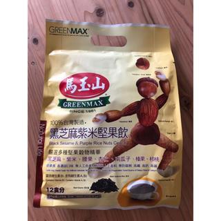 台湾 馬玉山 黑芝蔴紫米堅果飲 (黒ゴマパ一プルライスナッツ)(茶)