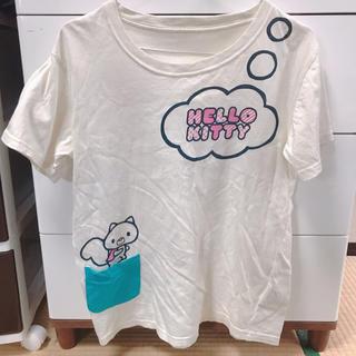 ハローキティ(ハローキティ)のハローキティ tシャツ(Tシャツ(半袖/袖なし))