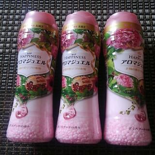 ピーアンドジー(P&G)のレノアハピネスアロマジュエルざくろブーケ520ml3本セット香り付け専用(その他)