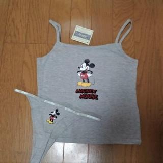 ディズニー(Disney)のディズニー ミッキ―マウス★タンクトップ上下SET(ブラ&ショーツセット)