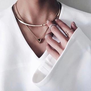ローズバッド(ROSE BUD)のチョーカーネックレス(ネックレス)