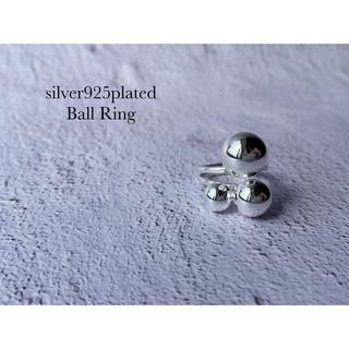 ビューティフルピープル(beautiful people)のsilver925plated メタル ボール リング(リング(指輪))